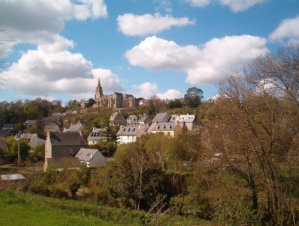 vue de Lannion dans les Côtes-d'Armor